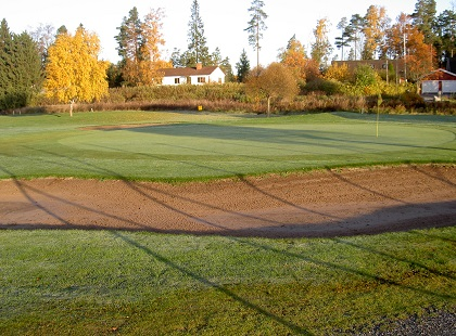 Golfbanan hål 15