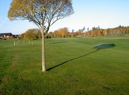 Golfbanan hål 17