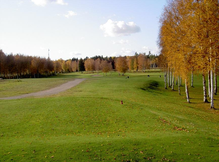 Golfbanan hål 2
