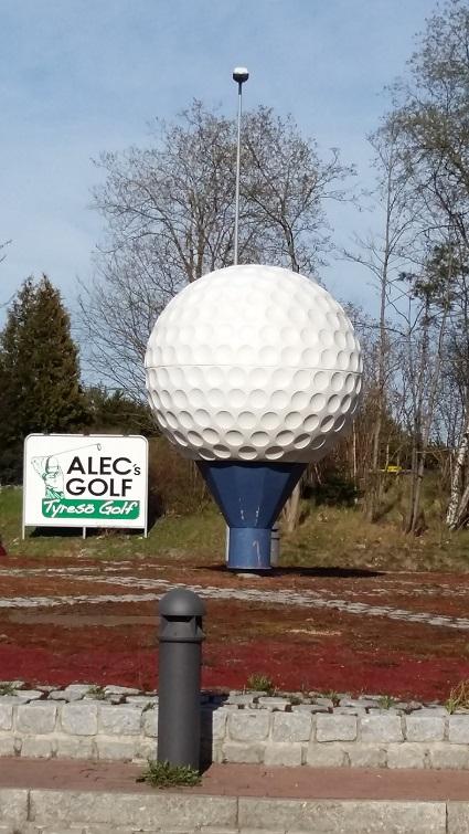 Golfbollsrondellen Tyresö