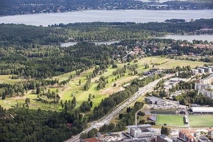 Tyresö golf flygbild 4