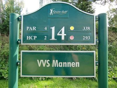 Tyresö Golf sponsor hål 14